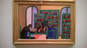 Library painting